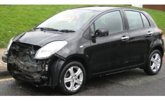 2010 Toyota Yaris 1.3 TR AUTO **** DAMAGED REPAIRABLE SALVAGE ****